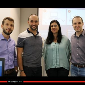Gabriel, Fernão, Núbia e Wagner - Argo Solutions - Simplifying your journey
