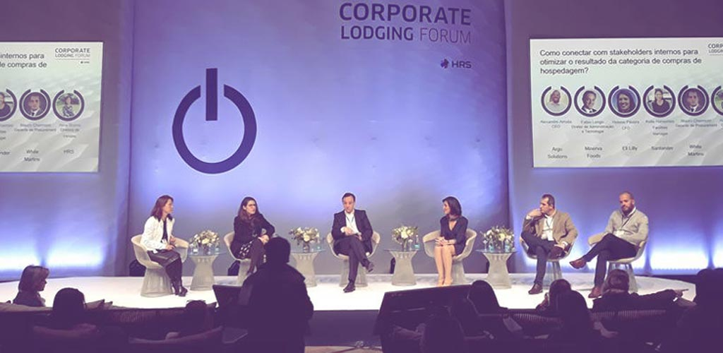 Argo no Corporate Lodging Forum da HRS - Argo Solutions - Simplifying your journey