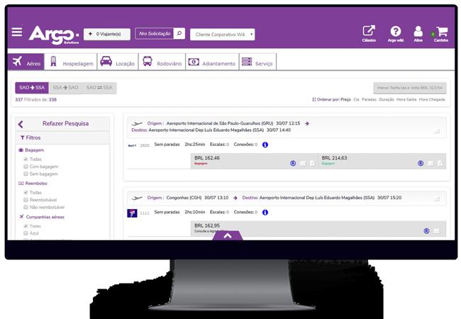 Argo Solutions – Simplifying your journey: gestão de viagens corporativas, gestão de despesas corporativas